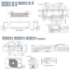 mitsubishi heavy industries air conditioning srk25zsx r32 wall heat pump install pack [ 2000 x 2000 Pixel ]